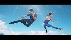 Trampoline ad shoot for Myntra/HRX - Hritik Roshan Brand ft Chaos Faktory: India